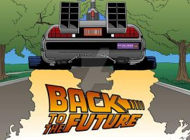 Back to the Future by monsterartist