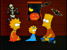 Treehouse Of Horror 1-The Simpsons 1001 Animations by SofiaBlythe2014