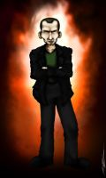 The Ninth Doctor: Christopher Eccleston by ApocalypseCartoons