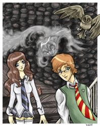 Penelope, Peeves and Percy by Buuya