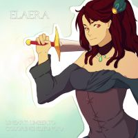 Elaera - collaboration by multieleonora96