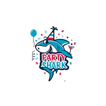 shark logo by lindadesing