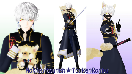 Nakigitsune Toukenranbu Model DL by hzeo