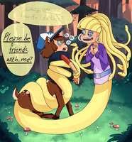 Next time, just ask, okay? by somnefarious