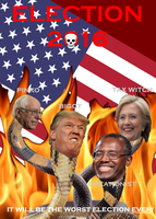 Election 2016 Poster by GeneralHelghast