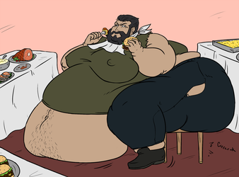 Hungry Man Challenge pt. 1 by stevie-foxx