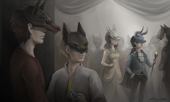 Masquerade - Contest Winners Announced by eychanchan
