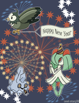 Holiday PokeSwap 2015 by sweet-misery788