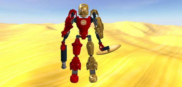 Bionicle: Revolution Reshoots - Bio-Hero (LDD) by MechaAshura20