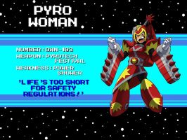 DWN-103: Pyro Woman by Garth2The2ndPower