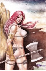 Red Sonja by Jun De Felipe June 28 2018B by rodelsm21