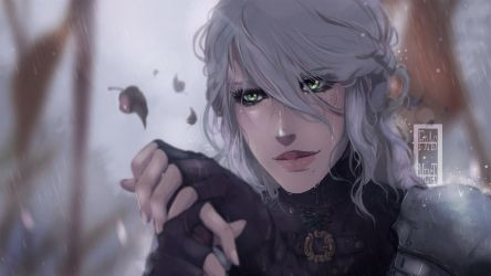 The Witcher 3 - Ciri by IFrAgMenTIx