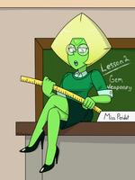 Teacher Peri (Remake) by MrChaseComix