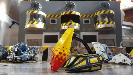 Robot Wars Model Arena Scene by LouTheFatCat