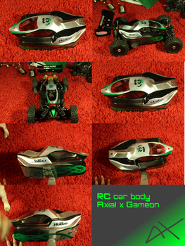 RC car body by Axial97