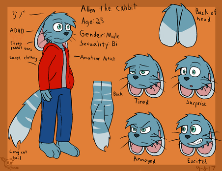 Allen the Cabbit by SesshaXIII