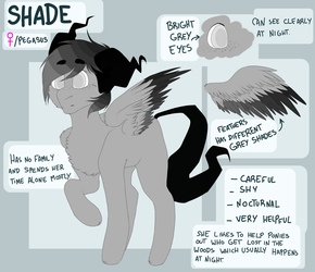 Ref Sheet: Shade by DollPone