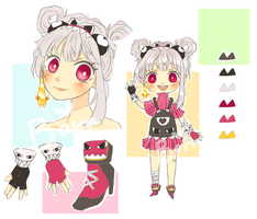 [Adopt Auction] Munch Monsters #1 -CLOSED TY- by BoraDori