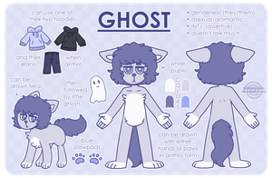 Ghost - Reference Sheet by obakesama