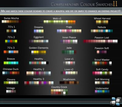 Complementary Color SwatchesII by DigitalPhenom