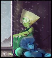 Peridot is Enjoying the Weather by Decadia