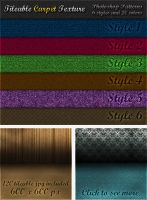 6 Tileable Carpet Textures by survivorcz