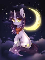 Night sky by ten-dril