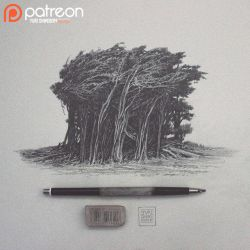 Trees Patreon sketch by YURISHWEDOFF