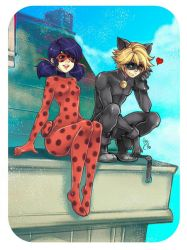 Ladybug and Chat Noir 2 by lince