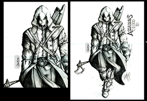 Assassins Creed 3 - Connor by Gle4se