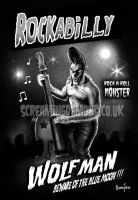 Rockabilly Wolfman by MarcusJones