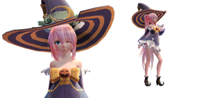 [MMD] Witch Luka DL by Salerosacs