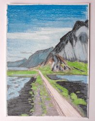 Iceland Road by Moni3