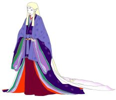 Heian catwalk by electric-ayu