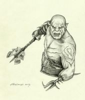 Azog by AlessiaPelonzi