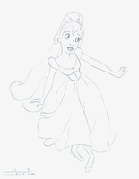 Daily Sketch: Thumbelina by luxandnox