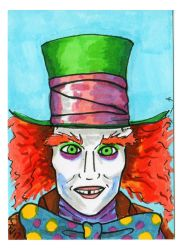 We Are All A Little Mad Here - Mad Hatter by Fitzufilms