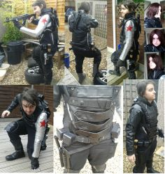 Winter Soldier cosplay - complete by sasukeharber