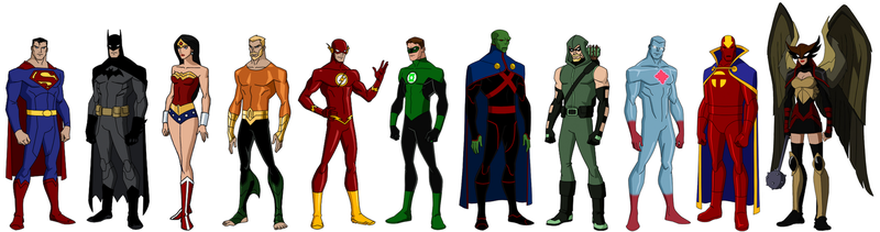 Extended Justice League by grego23