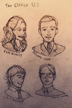 The Office sketch by Nikkonh