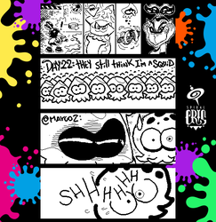 Splatoon Miiverse Art 49 by SPIRALCRIS
