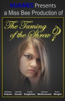 The Taming of the Shrew Play Poster by xanidubia