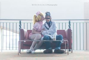 Dr. Mario and Nurse Peach by xHee-Heex