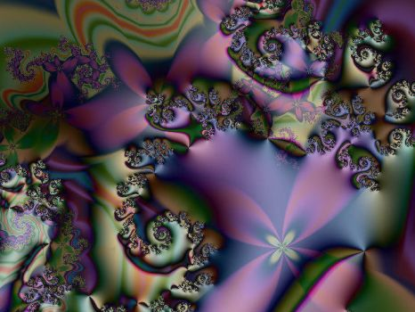 Burgeoning Abstract by fractalhead