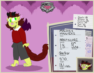 Monster Prom OC by MachinistArc
