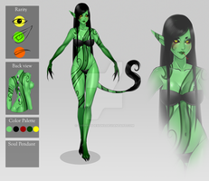 (closed) Auction Adopt - Valix: Year of the Snake by CherrysDesigns