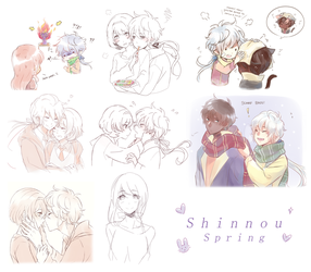 [SA] Spring Sketches by luluteatime