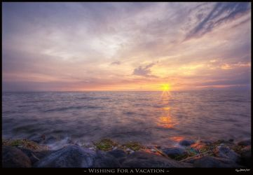 Wishing For A Vacation by jdeepan