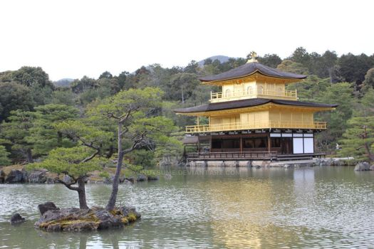 Golden Pavillion by InuTsume