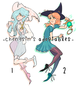 [1/2 OPEN] 'Crying Witches' adopts by chenysin